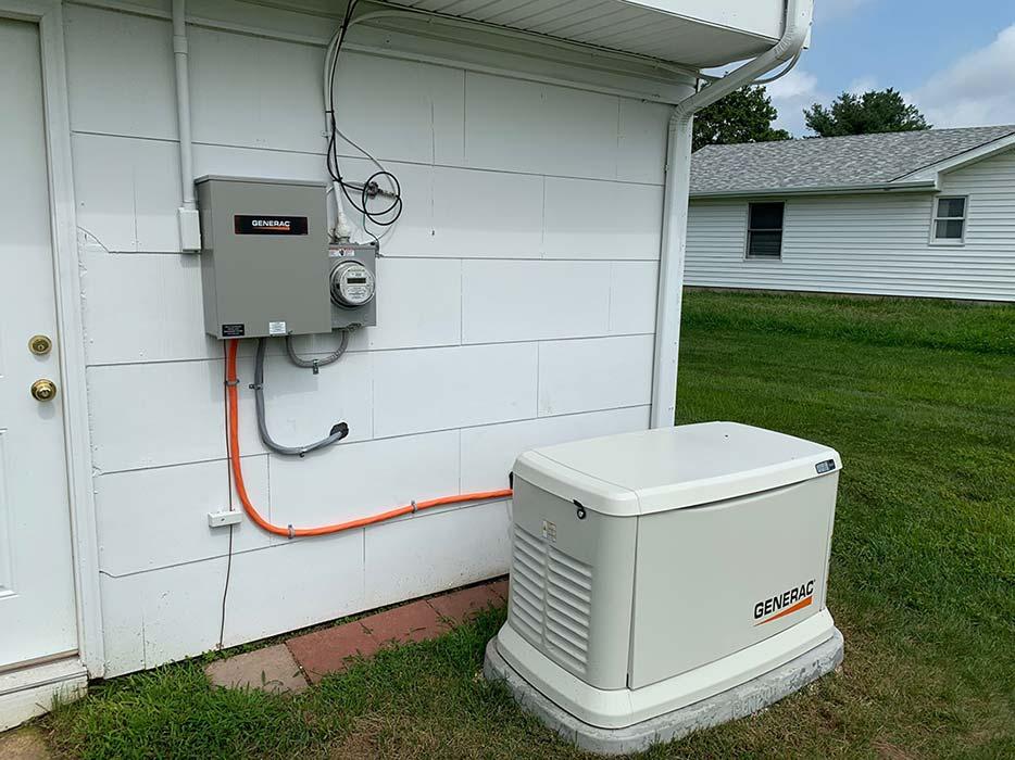Generac install horizontal - Generac® Generators
