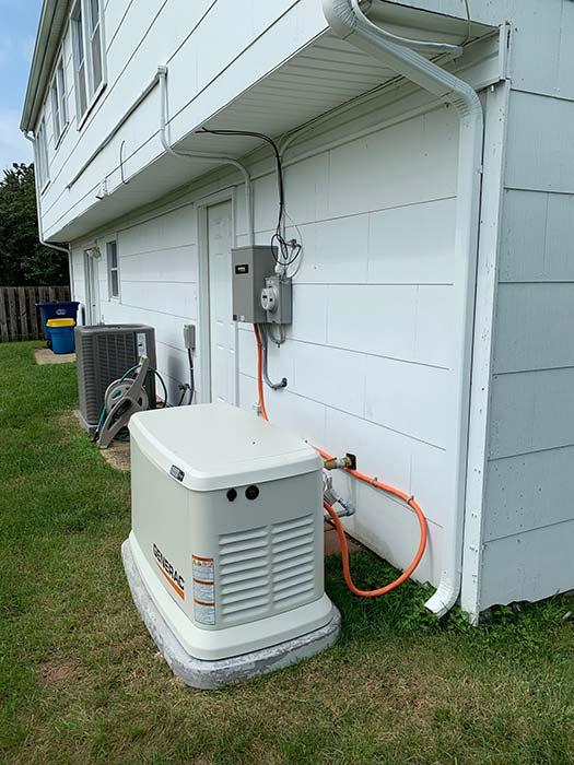 Generac install vertical - Generac® Generators